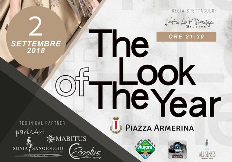 The Look of the Year. Finale Regionale, 2 settembre a Piazza Armerina (En)